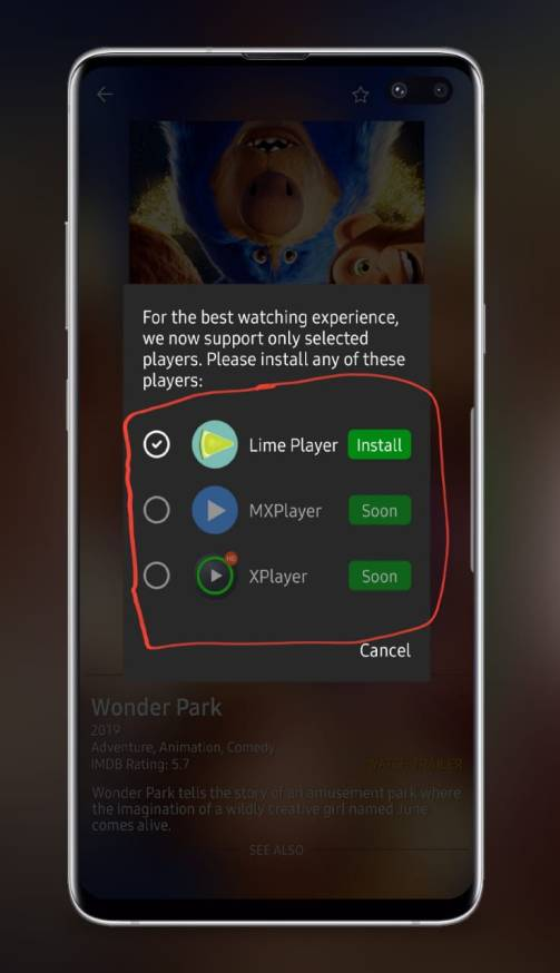 Lime player 1.0.2 apk download for Android 2019