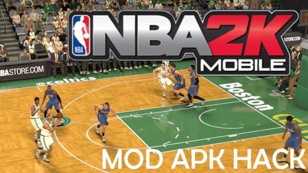 NBA 2K Mobile basketball Mod apk hack
