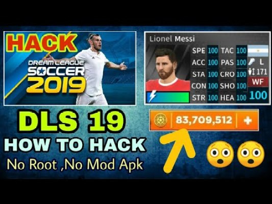 Profile.dat for Dream League Soccer 2019 hack coins download