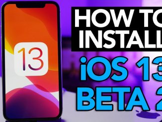 iOS 13 Beta 2 ipsw with Profile Link