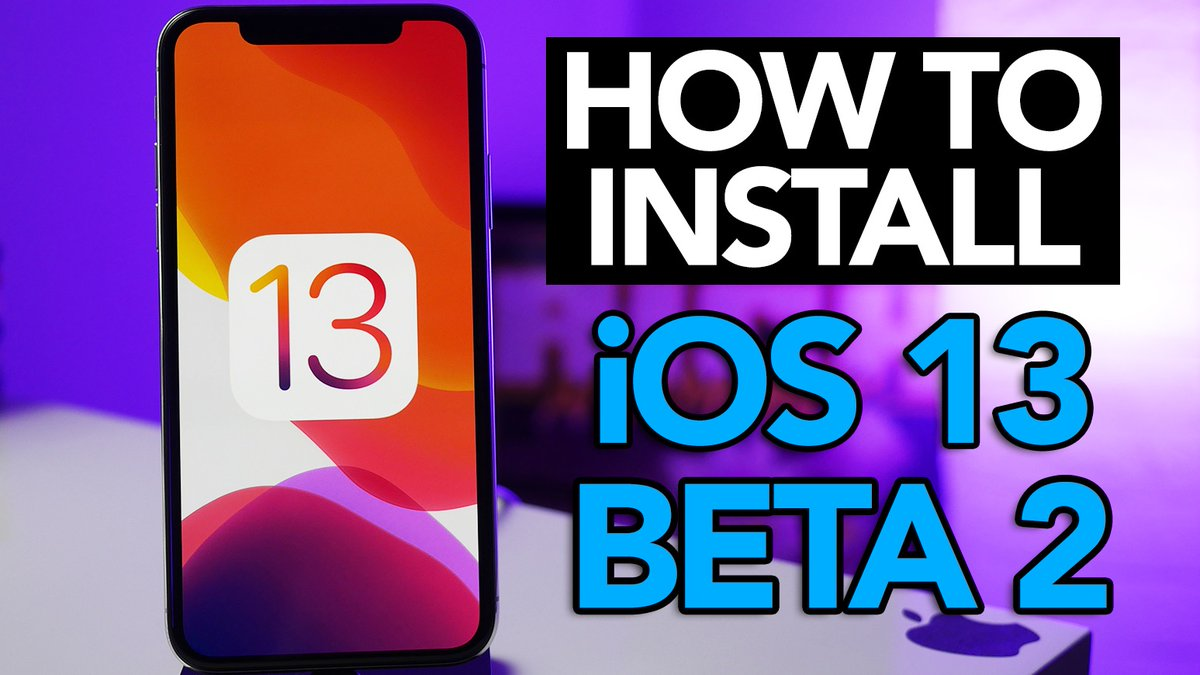iOS 13 Beta 2 ipsw download with Profile link, for iPhone, iPad