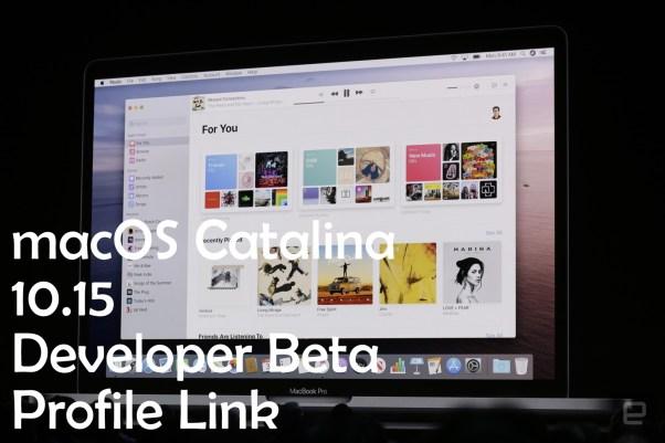 MacOS Catalina 1015 Developer Beta DMG Link v1015