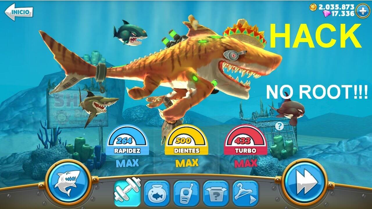 Hungry Shark World Apk Mod v3 4 0 OBB/Data for Android