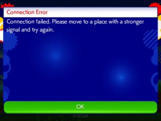 Sonic Runner Survival Connection Error