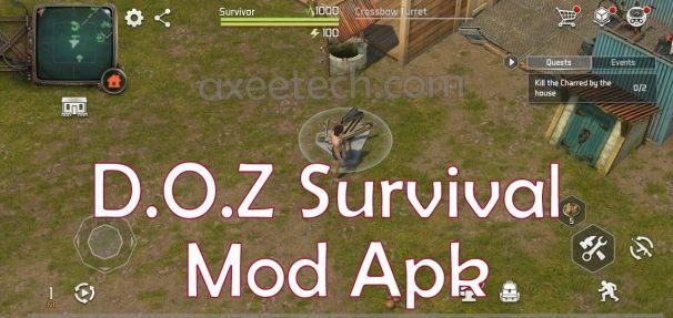 DOZ Survival Mod Apk Hack v2.25