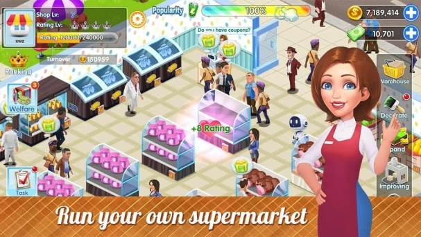 My Supermarket Story: Store tycoon Simulation Apk