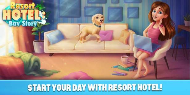 Resort Hotel: Bay Story Apk