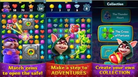 Diamond Quest - Match 3 puzzle ModApk