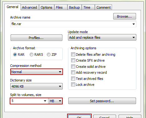 Difference between Zip and RAR files
