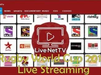 Live NetTV RWC 2019 Live Streaming