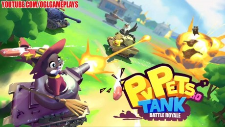 PvPets Tank Battle Royale Mod Apk