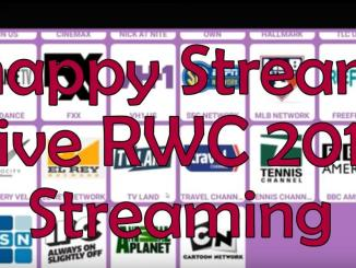 Snappy Streamz RWC 2019 Live Streaming