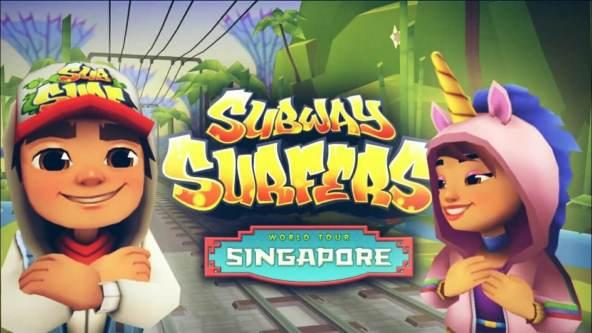 Subway Surfers Singapore Mod apk 11090 hack 2019