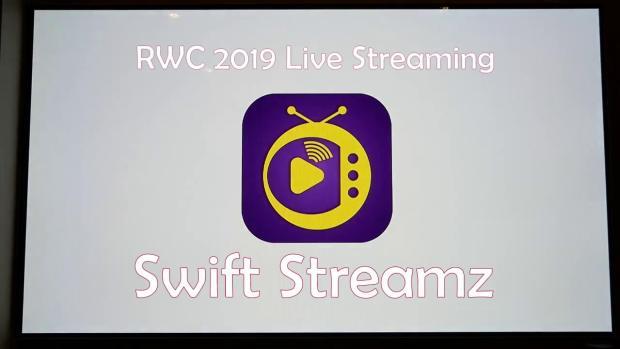 Swift Streamz RWC 2019 Live Streaming