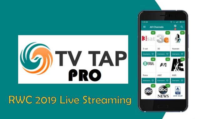 TvTap apk RWC 2019 Live Streaming