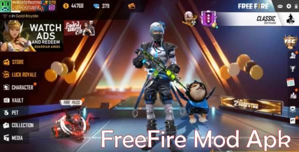 Free fire 1.41.0 Mod apk hack