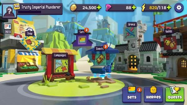Lego Legacy Heroes Unboxed Apk App for Android Download
