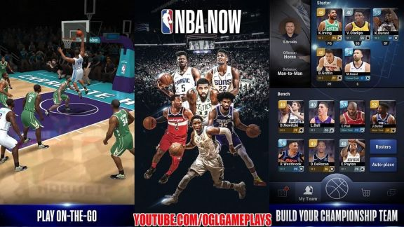 NBA Now Mobile Basketball Game Mod apk hack