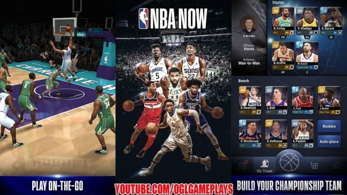 NBA Now Mobile Basketball Game Mod apk hack
