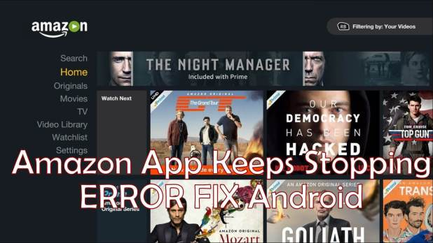 Amazon App Keeps Crashing Fix Android