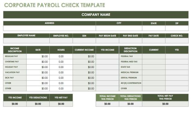 Free Download Payroll System using Excel Sheets