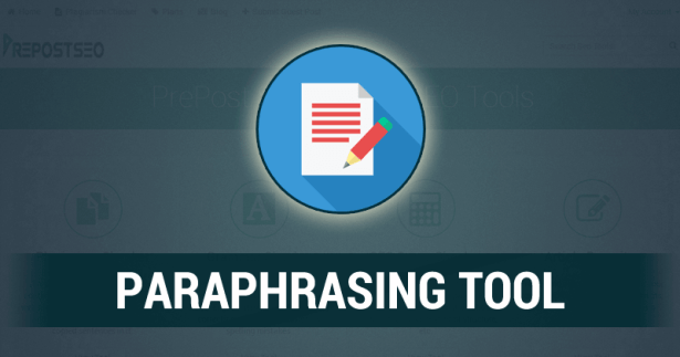 Rewrite with Paraphrasing tool