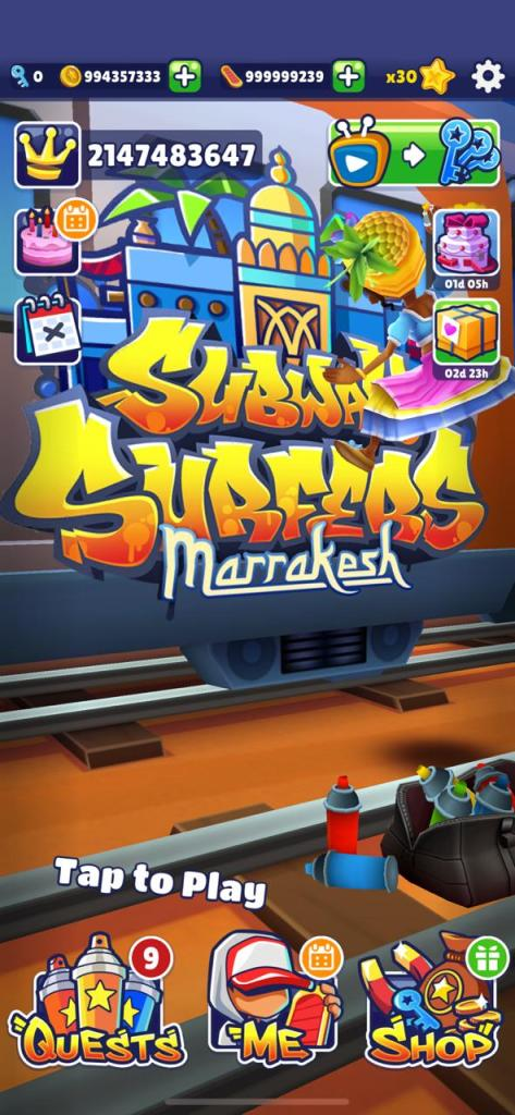 Subway Surfers Marrakesh 2020 Mod apk