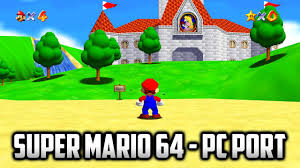 Super Mario 64 exe for Windows 10