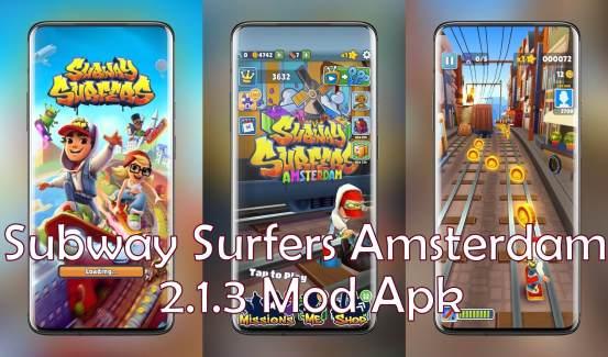 Subway Surfers Amsterdam Mod apk 213