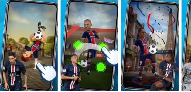 PSG Soccer Freestyle Mod Apk Hack