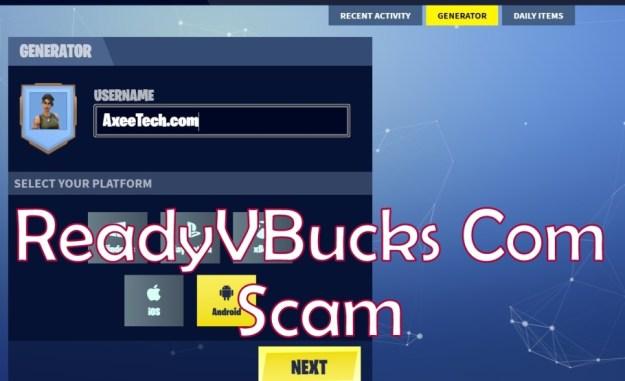 ReadyVbucks Com Fortnite