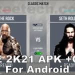 WWE 2K21 apk Android screenshots 2