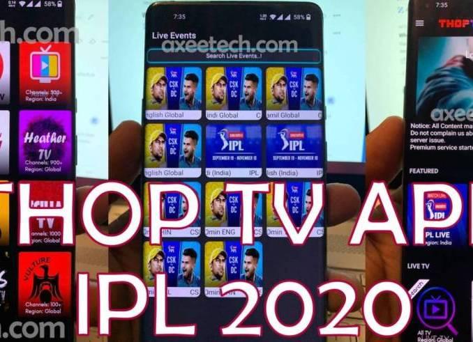 ThopTV Apk IPL 2020