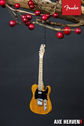Officially Licensed Fender™ Telecaster™ Guitar Ornaments by AXE HEAVEN®