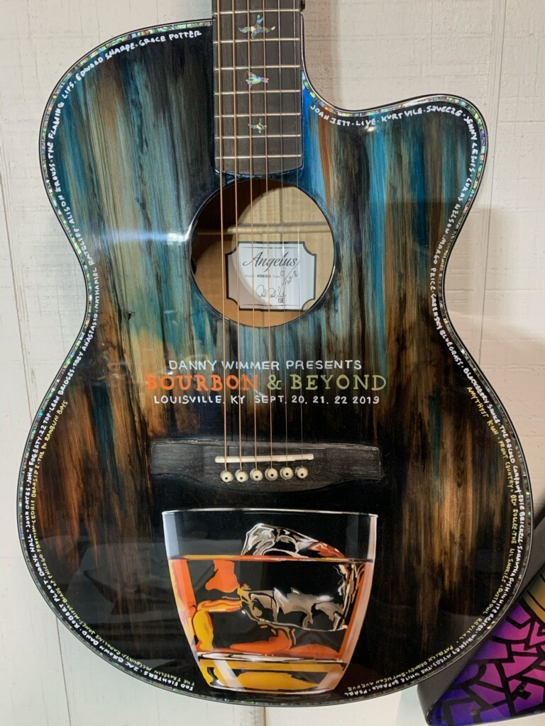 Custom Painted Acoustic Guitars : custom, painted, acoustic, guitars, CUSTOM, PAINTED, GUITARS, HEAVEN, Miniature, Guitars