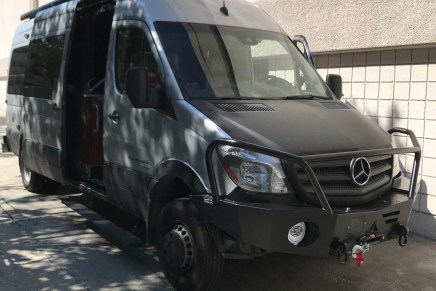 AXEL BLOOM ADJUSTABLE BED: MERCEDES BENZ SPRINTER