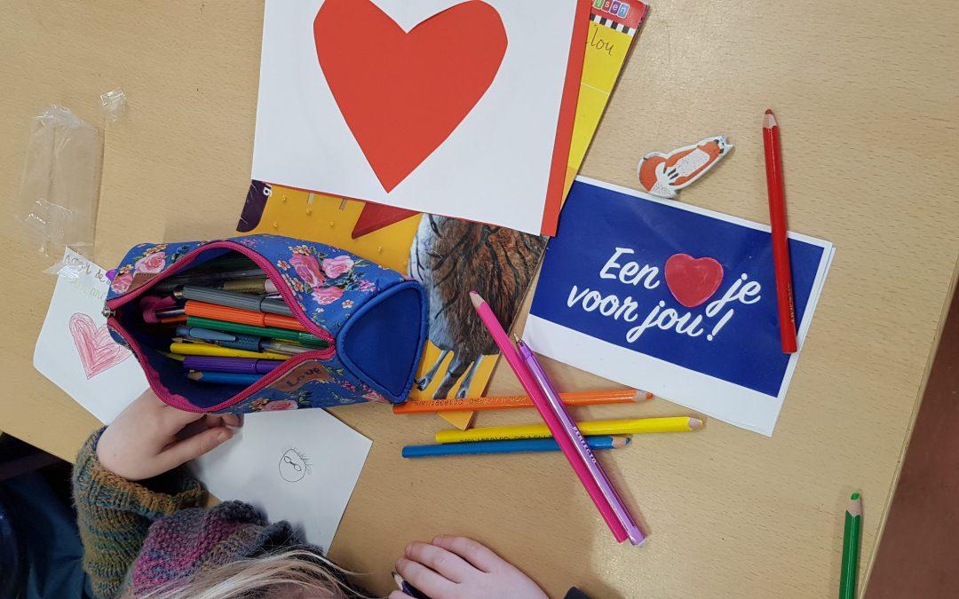 Valentine's day at the Dutch School- Houten