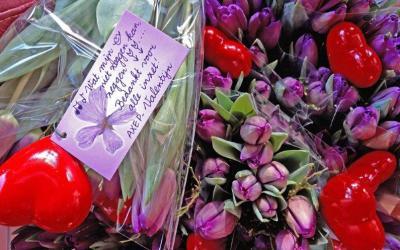 AXEP valentine's day at the Dutch school De Plantage.