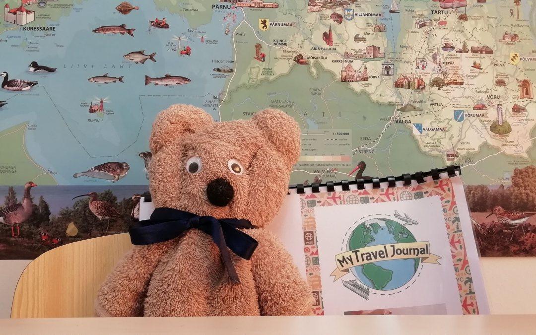Zebby from Malta visited school children in Lindi (Estonia)