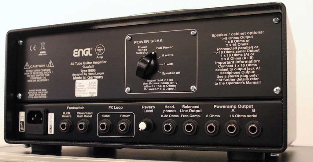 Engl Ironball 20w All Tube Amplifier Head E606
