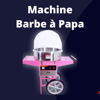 Machine barbe à papa sur chariot Lille