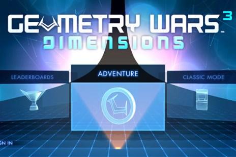 [Game] 炫光奪目、極簡樂趣的完美展現:Geometry Wars 3 帶來新感覺射擊新樂趣!