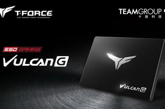 十銓科技推出 T-FORCE VULCAN G 電競固態硬碟,專為效能與流暢體驗而生!