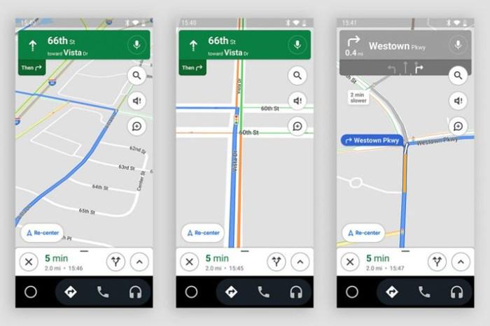 Google 地圖新功能:可以顯示地圖上的紅綠燈號,能成為計劃路線的參考因素!