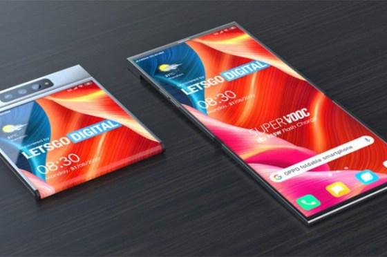 oppo 全新可摺疊螢幕手機專利曝光,外型更緊湊、展開前後都有大螢幕!