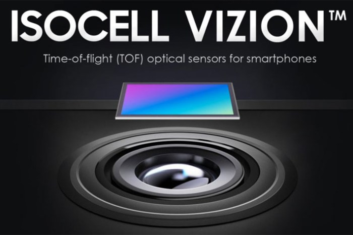 除了相機感光元件,三星發佈了 3D ToF 感測器-ISOCELL Vizion ,會用在明年的 Galaxy S21 上嗎?
