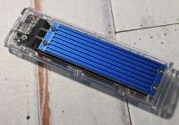 ORICO NVMe M.2 SSD 外接盒開箱:纖薄體積,設計有型~效能表現不俗!