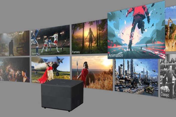 迷你當道!Epson 推出全球最小 3LCD 雷射投影機 EF-11 與智慧版 EF-12!有聲有色同時滿足感官需求!