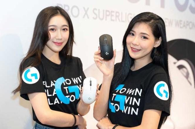 羅技推出 Logitech G PRO X SUPERLIGHT 輕量化無線電競滑鼠,LOGIVAL 羅技嘉年華率先開賣!