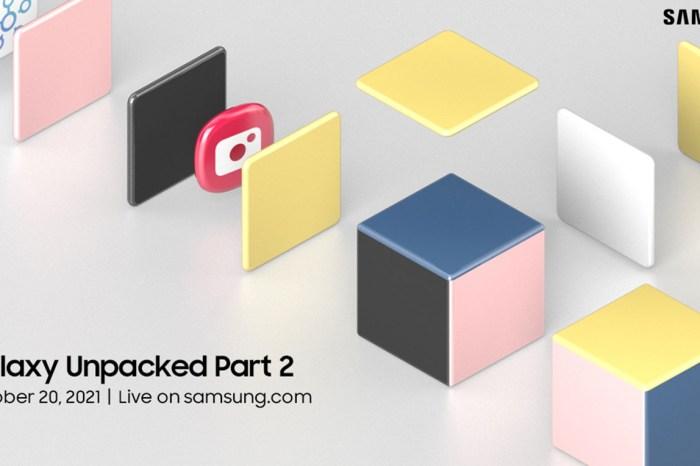 今年還沒完!三星 10/20 將再開 Galaxy Unpacked Part 2,還有神秘產品將推出?